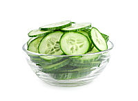 Vinegar Dill Sliced Cucumbers